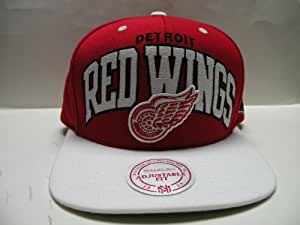 Mitchell & Ness NHL Detroit Red Wings Arch 2 Tone Retro Snapback Cap