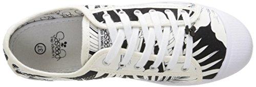 Le Temps des Cerises  Ltc Basic 02,  Damen Sneaker Schwarz - Noir (Honolulu Black)