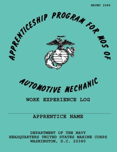 Apprentaceship Program for Mos of Automotive Mechanic por Department of the Navy