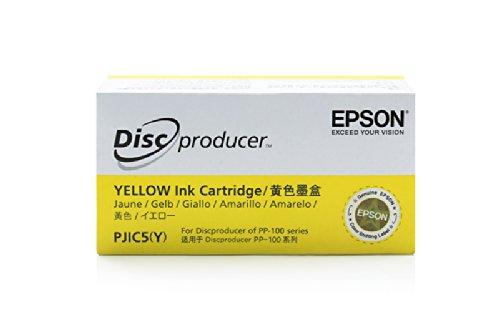 Epson Discproducer PP 100 N - Original Epson C13S020451 / PJIC5 Yellow Tinte (Epson Discproducer)