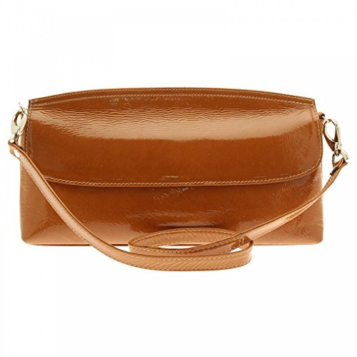 Kennel Und Schmenger Clutch With Strap Camel Patent