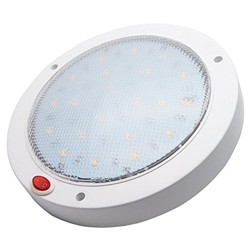 MASO - Lámpara LED de techo para remolque, furgoneta, yate, barco o interior de caravana (900 lúmenes)