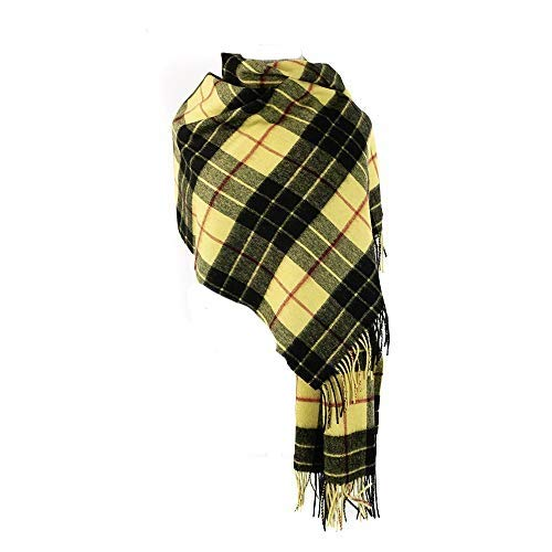 66f44474ab2e1 Kiltane of Scotland 100% Pure Lambswool Big Scarf Wrap Scottish Tartan  Stole Multicolour Warm And