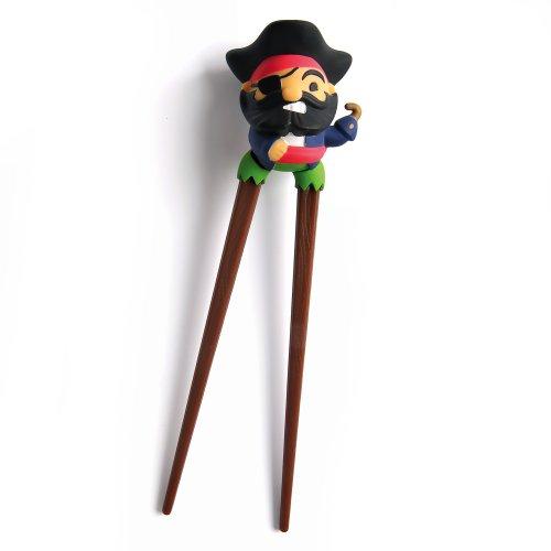 Gama Go Peg Leg Pirate Essstäbchen, (Pirate Leg Peg)