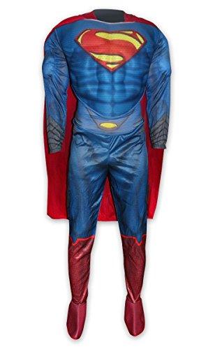 Man of Steel Deluxe Kostüm Superman (für Erwachsene) -