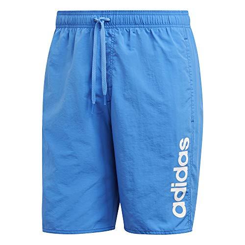 adidas Herren LIN SH CL Swimsuit, True Blue, L