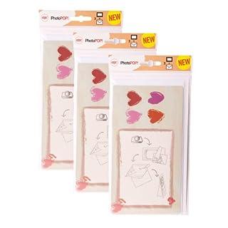 Acco/Kensington 9x Bundle GBC Photopop - Personal Photo - Celebration Greeting Cards - Love Hearts