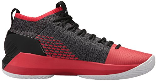 Under Armour Herren UA Heat Seeker Basketballschuhe Black/Pierce/Zinc Gray
