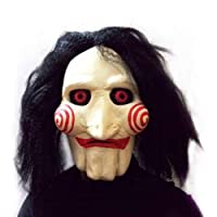Saw Cosplay Movie Jigsaw Party Masquerade Rubber Halloween Silicone Mask