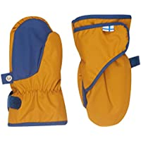 Finkid Lapanen gold denim Kinder Winter Handschuhe