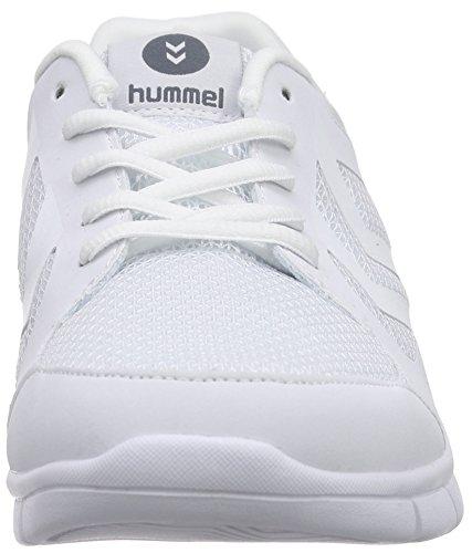 Hummel Effectus White 9001 Scarpe Adulto Fit Sportive Indoor Unisex Bianco rrqOfT