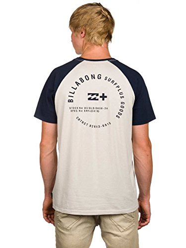 2016 Billabong Emblem T-Shirt MOON Z1SS30 Moon