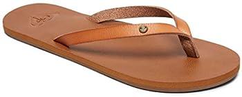 Roxy Women's Jyll Flip Flops, Brown (Tan Tan), 7 Uk 0