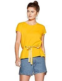 United Colors of Benetton Women's Plain Regular Fit T-Shirt