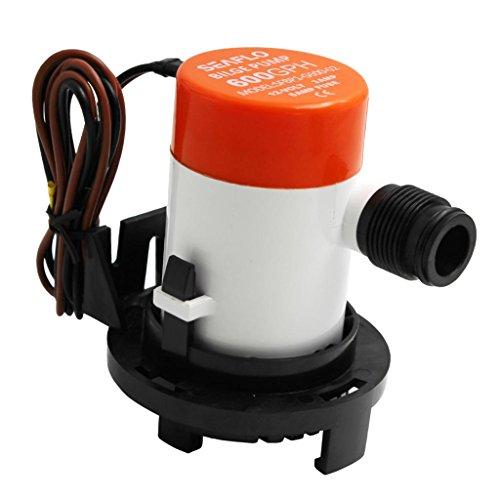 MagiDeal 1 Stück Bilgepumpe 600GPH Mini Elektrische Bilge Wasserpumpe Für Marine Boot Elektrische Rv