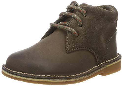 Clarks Jungen Comet Radar T Klassische Stiefel, Braun (Brown Leather Brown Leather), 25 EU