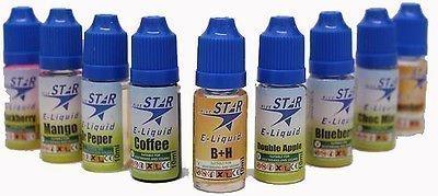 GadgetPod - E-liquid Null Nikotin 10ml Flaschen E-Shisha Hookah Nachfüllung Stift Öl Saft Geschmack - Tabak Geschmack (Top Shisha Flasche)