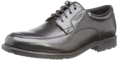 Rockport Esntial Dtl Wp Aprn, Chaussures de ville homme, Noir, 41 EU