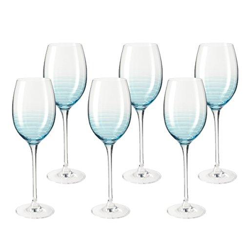 leonardo-014887-juego-de-6-copas-de-vino-cheers-apto-para-lavavajillas-azul