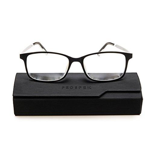 PROSPEK:ARCTIC Blaulichtblockierende Brillen bieten Augenentlastung. Erleben Sie brillante Farben und schützen Sie Ihre Augen mit der einzigen Computerbrille mit CLEARX Technologie (Keine Verstärkung)