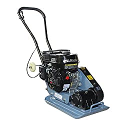 SwitZer Petrol Compactor Compaction Plate 5.5HP Tamper Heavy Duty Cast Activator HS-60 with Wheels New Design