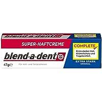 Blend-a-dent Super-Haftcreme Extra Stark, 3er Paquete (3 x 47 g)