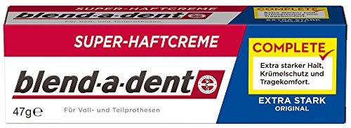 Blend-a-dent COMPLETE ORIGINAL Super-Haftcreme, 3er Pack (3 x 47 g)