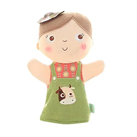 Belles Marionnette main Poupées enfants avec motif de la vache