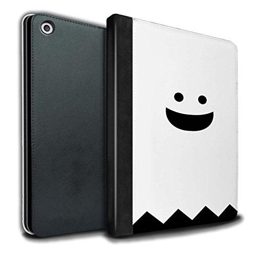 �lle/Case/Brieftasche für Apple iPad 9.7 (2017) Tablet/Geist Muster/Halloween Zeichen Kollektion ()