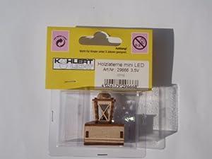 Kahlert 29.666 luz - Muñeca Mini Accesorios - Mini Holzlaterne LED