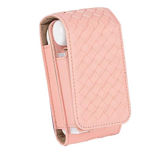 Iqos Sigaretta Elettronica Titolare Di Protezione Iqos Borsa Sacchetto PU Cover In Pelle Sigaro,Pink