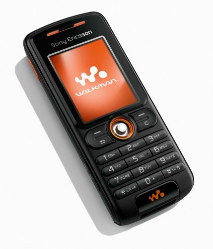 Sony Ericsson W200i Rythm Black Handy Sony-ericsson-symbian-software