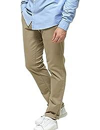 Marl Pantalon Chino Sand Slim L/34 de Selected