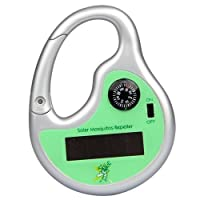 SODIAL(R) Sodialr Solar Powered Mosquito Insect Bug Repellent Repeller