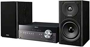 Sony CMT-SBT300W Netzwerk Micro-Kompakt-System (WiFi, Apple AirPlay, Bluetooth, USB, 100 Watt, CD-Player)