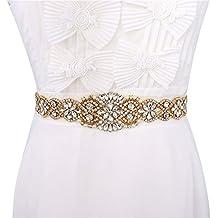 Cinturón de Novia, Wedding Crystal Sash, Rhinestone boda Sash, Cinturón de Boda de
