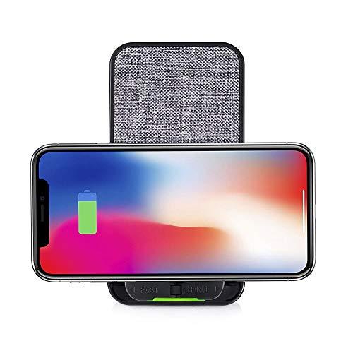 Fast Wireless Charger Für IPhone X, Samsung S8, Produktmerkmale: Schnellladung, Micro-Sauganpassung, 360% Rotation, Kompatibel, Importierte Chips, Mehrfachschutz, Effektive Konvertierung