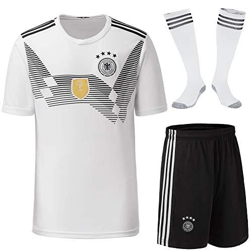 Cytech Deutschland Fußball Trikots Kinder Erwachsener Fußball Trikot 2018 Weltmeisterschaft Germany (Kind/24 (135-145cm))