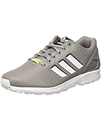 adidas ZX Flux - Zapatillas Para Hombre, Color Negro/Amarillo/Rojo/Blanco, Talla 38 2/3