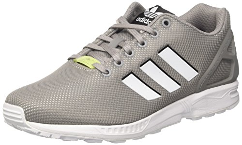 adidas Originals ZX Flux, Chaussures de Running Compétition Homme Gris (Solid Grey)