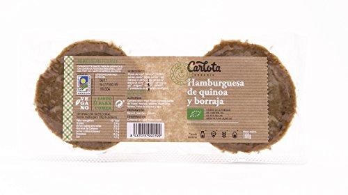 3 x HAMBURGUESAS Vegetarianas DE QUINOA Y BORRAJA