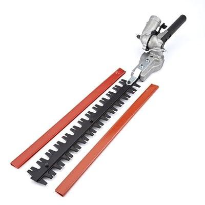 Trueshopping 9 Spline Garden Hedge Trimmer Attachment for Multi Tools