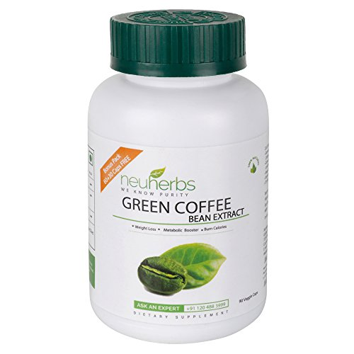 Neuherbs Green Coffee Bean Extract For Weight Loss – 90 Capsules