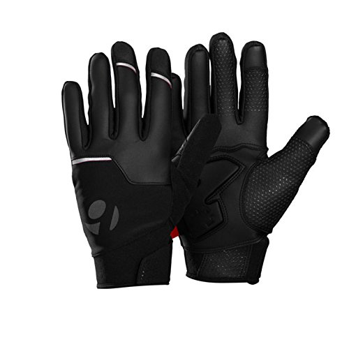 Bontrager Velocis Windshell Fahrrad Handschuhe lang schwarz 2016: Größe: XL (10)