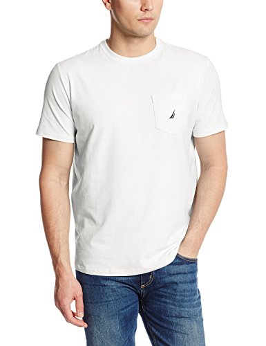 nautica-herren-t-shirts-ss-anchor-pocket-tee-classic-fit-bright-white-x-large