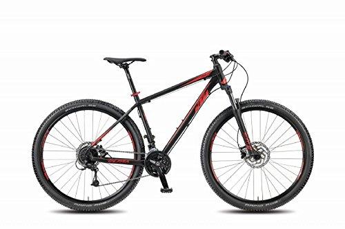 KTM MTB Ultra Fun 29 schwarz matt rot dunkelrot RH 48 cm 2018