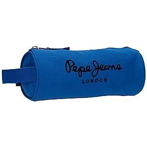 Pepe Jeans Plain Color Neceser de Viaje, 1.86 litros, Color Azul
