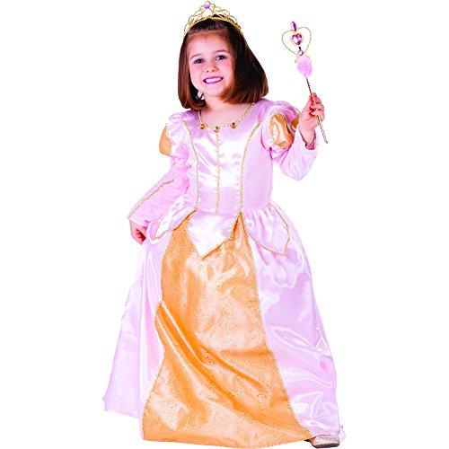 Belle Ballkleid Kostüm Goldenen - Dress Up America Kleines Mädchen Rosa Belle Ballkleid