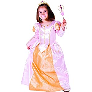 Dress Up America Vestido de niña Rosa Belle Ball