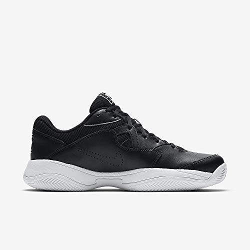 Nike Court Lite 2 Cly, Scarpe da Tennis Uomo, Multicolore Black/White/University Gold 100, 45.5 EU